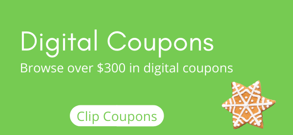 Digital Coupons Save Over $300 In Digital Coupons
